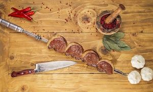 Groupon - All-You-Can-Eat Brazilian Steak Buffet for One, Two or Four (27% Off) in London. Groupon deal price: £14.50