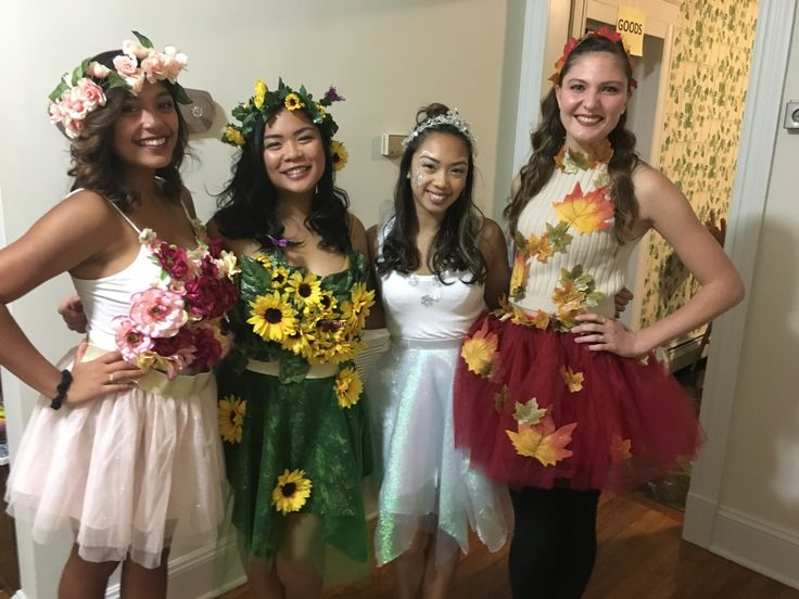 4 Seasons Group Halloween Costume