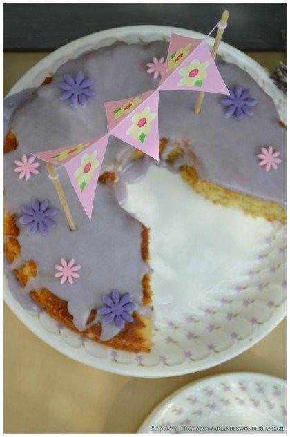 Lavender cake!!
