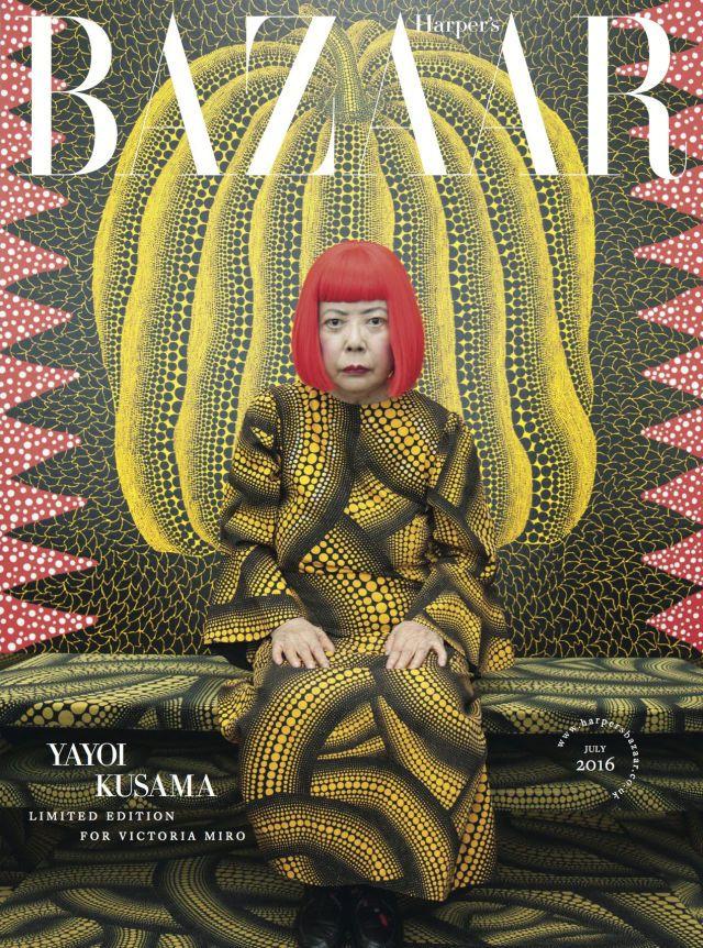 Yayoi Kusama on her new exhibition - HarpersBAZAAR.co.uk
