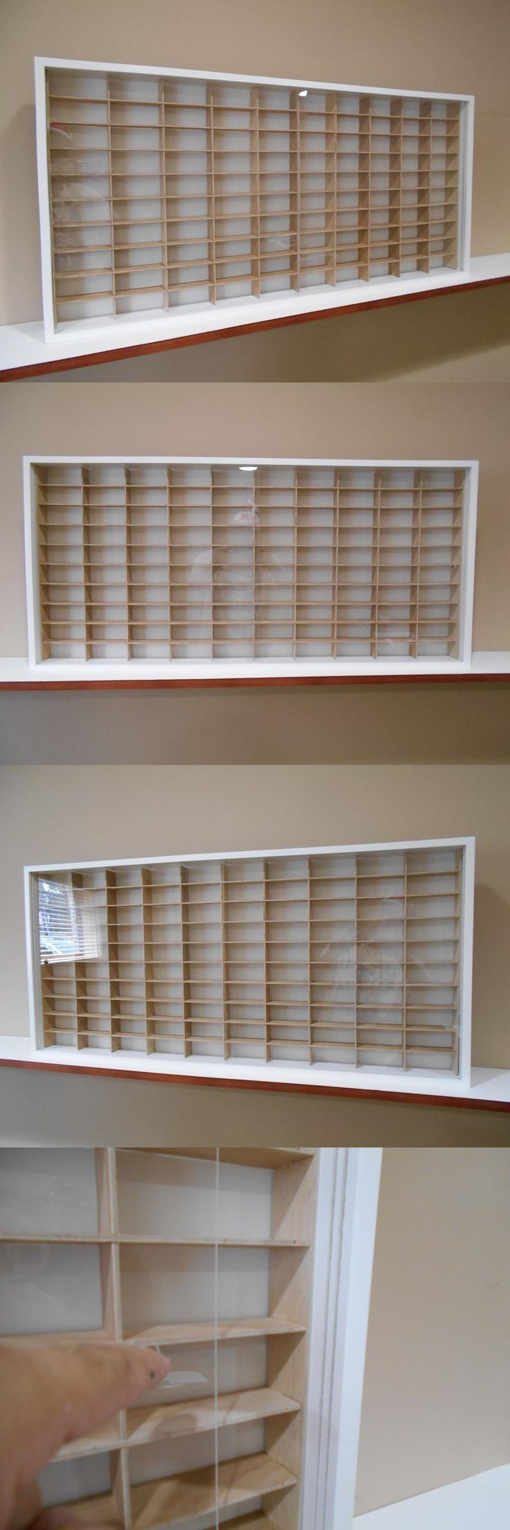 Shelf bookcases memorial wall displays antique white wall display - Display Cases And Stands 171135 Showcase Wall Display Case Cabinet For 1 64 Scale