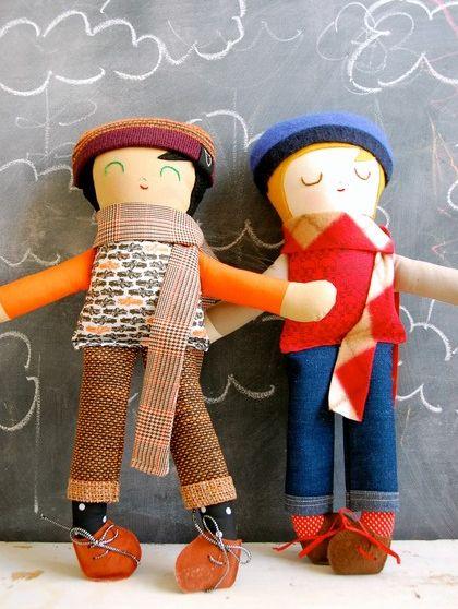 Boy dolls: Paxton custom dolls by Warm Sugar