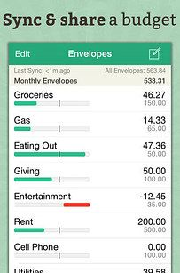 Use the Goodbudget app if you're trying to save money as a group.