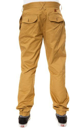 """Unyforme Men's Freeman Jogger Pants 38 Khaki. The Unyforme Freeman Jogger Pants in Black Look your best in The Freeman Jogger Pants from Unyforme. Unyforme Men's Freeman Jogger Pants. These cotton pants feature a pressed, flat front waistband with a sweatpant inspired elastic cuff. Our model Alex is 6' with a 32"""" waist and a 34"""" inseam. A brand-new, unused, and unworn item (including handmade items) in the original packaging (such as the original box or bag) and/or with the original..."""