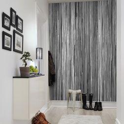 25 beste idee n over verf strepen op pinterest gestreepte muren gestreepte muren en - Behang effect van materie ...