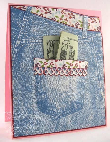Внутренний карман на открытке, открытки