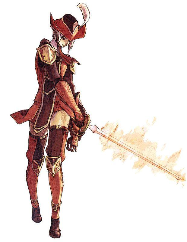 Elvaan Red Mage