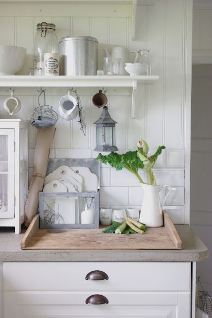 A lovely country kitchen