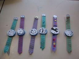 Horloges van karton