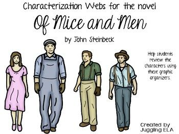 characterization curley s wife john steinbeck s mice and men George of the famous duo leading john steinbeck's of mice and men exclaims with disdain after first meeting curley's wife this character.