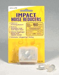 These Health Enterprises ACU-LIFE Impact Music and Concert Ear Plugs will keep your ears from ringing even after a long show spent dancing by the speakers!