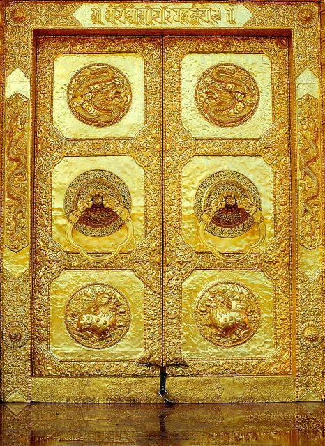 Golden Door, Tibet by reurinkjan, via Flickr