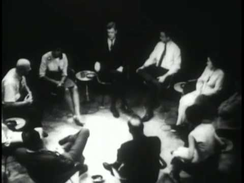 Journey into self - a documentary concerning a group therapy session conducted by Carl Rogers and Richard Farson