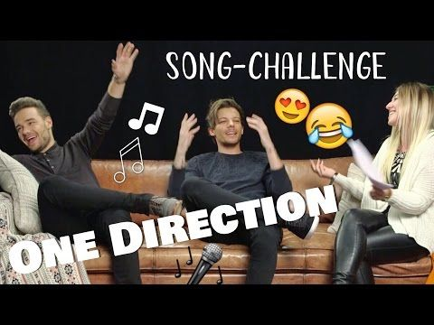 YouTube: Song Challenge mit ONE DIRECTION ♥ BibisBeautyPalace