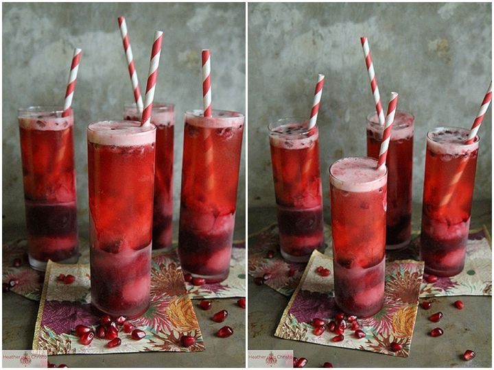 Raspberry & Pomegranate Champagne Cocktail - Christmas Cocktails –  Alcoholic and Non-Alcoholic Options