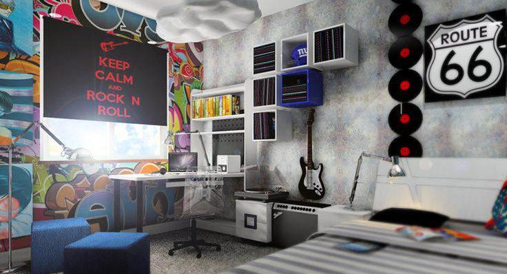 Wystrój ścian pokojów dla młodzieży to temat dość wrażliwy. Przy doborze wzorów tapet, łatwo jest popełnić błąd. Sprawdź jak dobrać właściwą tapetę!