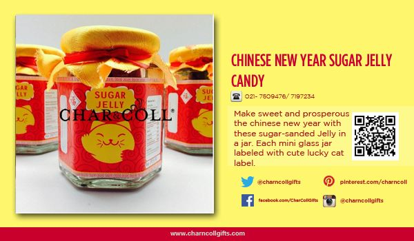 CHINESE NEW YEAR SUAGR JELLY CANDY |  Celebrate the Chinese New Year! Share the proesperity and happiness | Order now : www.charncollgiftS.com | 021-7509476 / 021-7197234 #ChineseNewYearGifts #ChineseNewYear