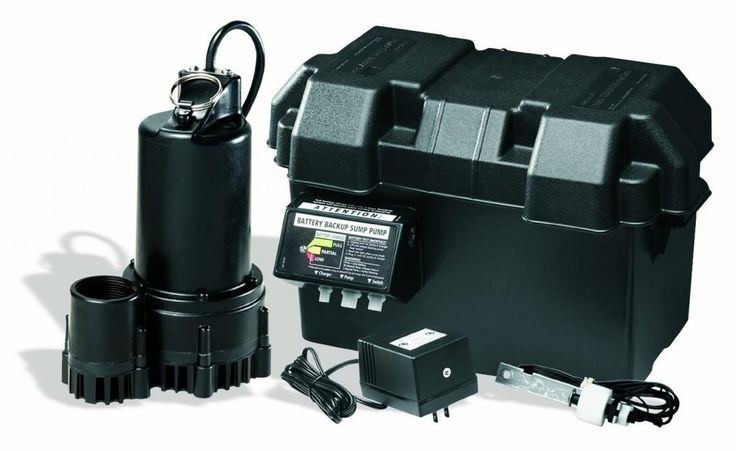 Wayne Esp25 Battery Back Up Sump Pump System Has Too High