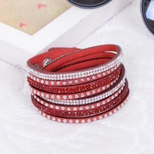 [EBay] New Fashion Punk Style Multilayer Buckle Leather Bracelets