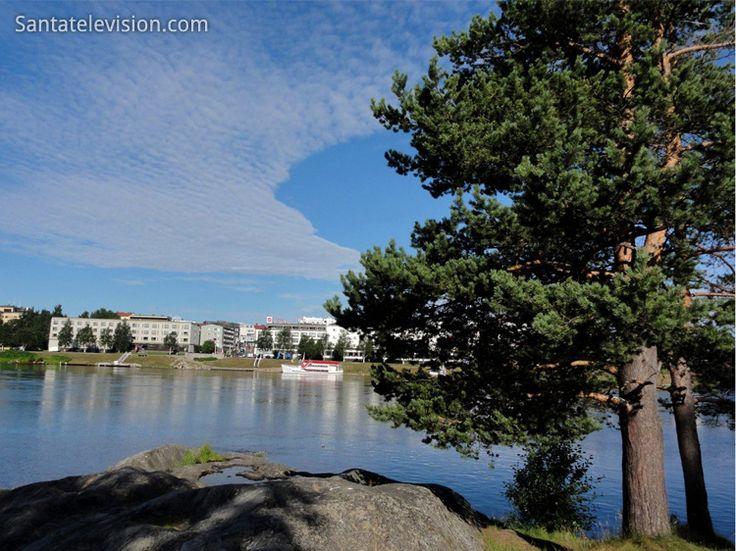 Verano en Rovaniemi en la Laponia finlandesa
