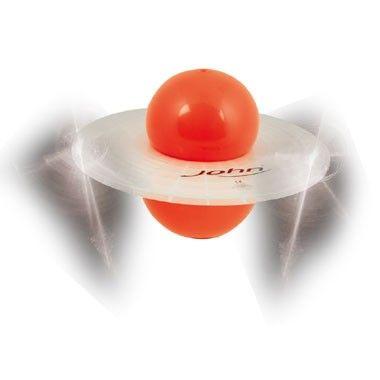 Light Up Saturn hopper - oranje  Train je beenspieren en je gevoel voor balans met deze leuke oranje Light Up Saturn hopper! Bij elke stuiter op de grond licht de bal op.  EUR 12.99  Meer informatie