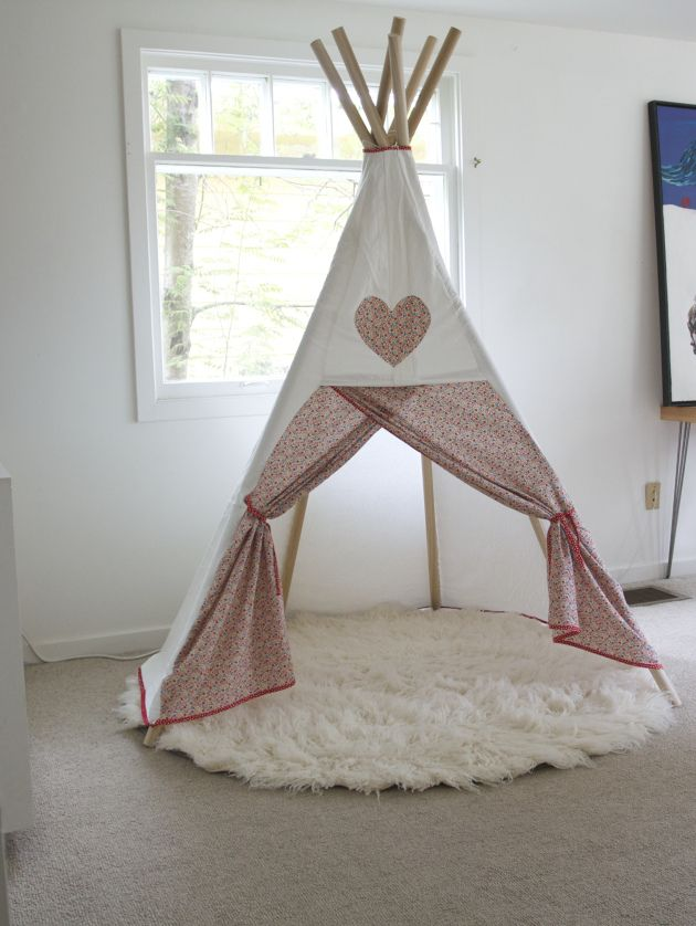 17 best ideas about diy teepee on pinterest diy tent teepee tent and tee pee. Black Bedroom Furniture Sets. Home Design Ideas
