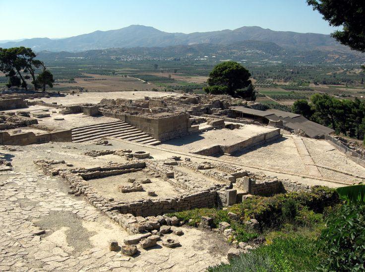 Palast von Phaistos, minoische Kultur