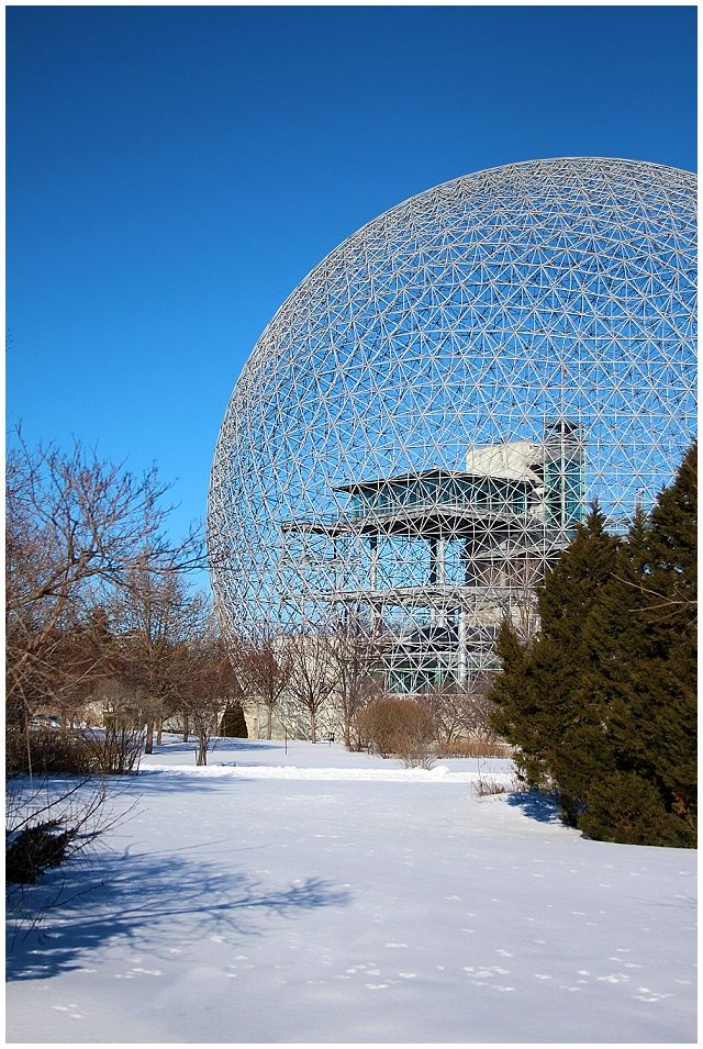 The Biodome on the Ile de Saint Helene in Montreal Oh Gosh: Travel: A Winter Visit to Montreal. What we did, where we ate, where we stayed.