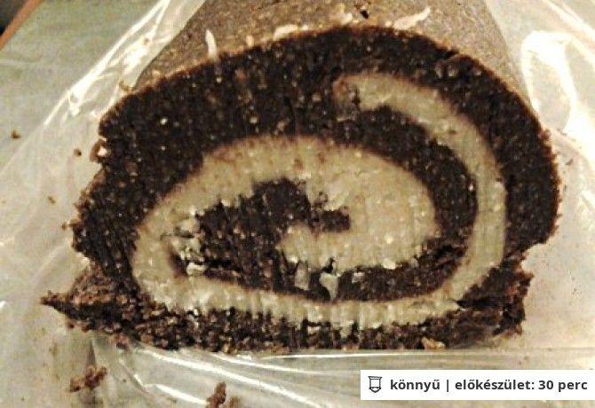 Paleo kókusztekercs