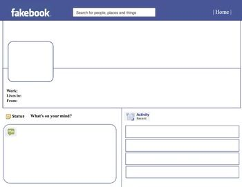 17 Best ideas about Facebook Page Template on Pinterest | It works ...