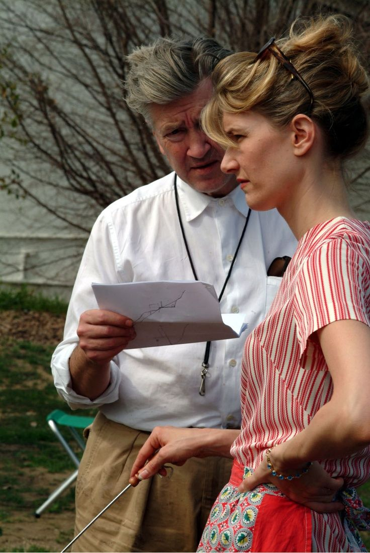 David Lynch & Laura Dern - Inland Empire (2006). I am not the author of this image. More on Facebook.