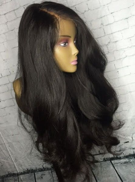 200 Density Loose Weave Lace Front Human Hair Wig