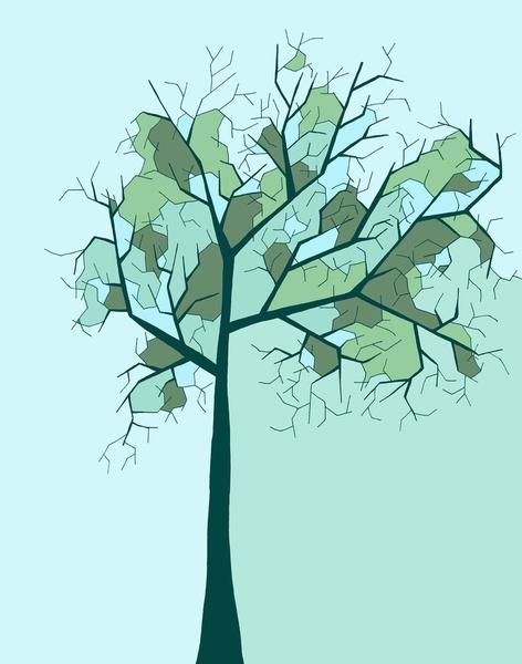 'Lonely Tree' Art Print