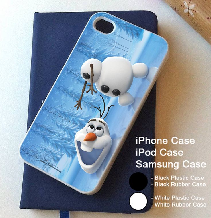 Disney Frozen Olaf Snowman For iPhone 4 4s 5 5s 5c 6 6s 6+ and Samsung Case