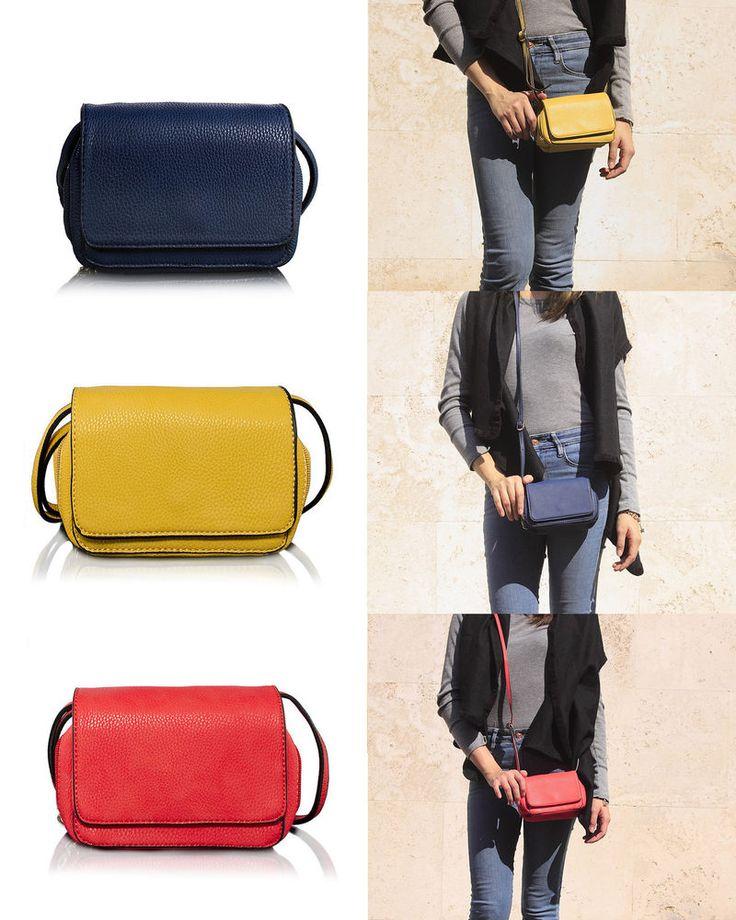 Borsa Donna a Tracolla Piccola Borsetta Pochette BRICIOLE - Clutch Crosbody Bag