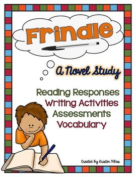 Frindle, by Andrew Clements, is a favorite of mine to teach. This story is one that many kids can relate to. I just love the personalities of the main characters, their desire to control, and the chain reaction of events throughout this tale. This comprehensive Frindle novel study includes reading responses, chapter by chapter discussion group questions, a vocabulary word wall, a character wall, lots of writing activities, an end of the book assessment, plus SO much more!Take a closer…
