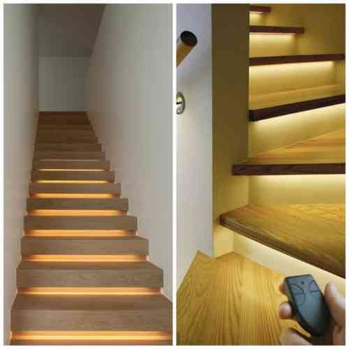 22 best eclairage et escaliers images on pinterest building construction and stairs. Black Bedroom Furniture Sets. Home Design Ideas