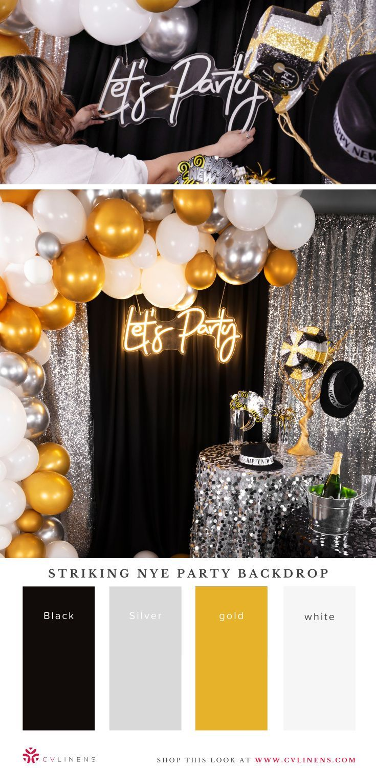Lets Party Neon Sign 73 Cm X 29 Cm New Years Eve Party Ideas Decorations New Years Eve Decorations New Year S Eve Party Themes