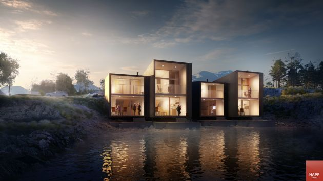 CGarchitect - Professional 3D Architectural Visualization User Community | Bay apartments in Norway, 2016