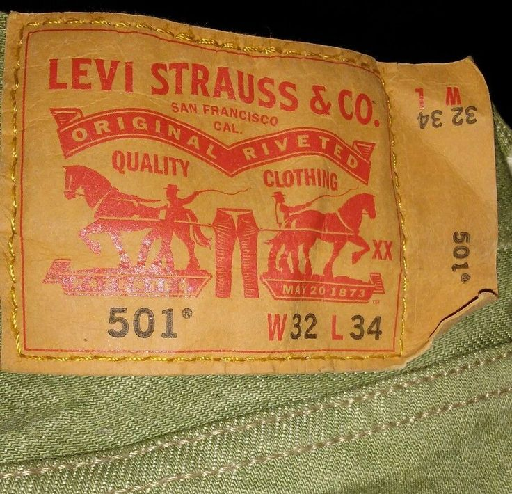Men's Vintage Levi Strauss & Co. Size 32/34 | Clothing, Shoes & Accessories, Men's Clothing, Jeans | eBay!