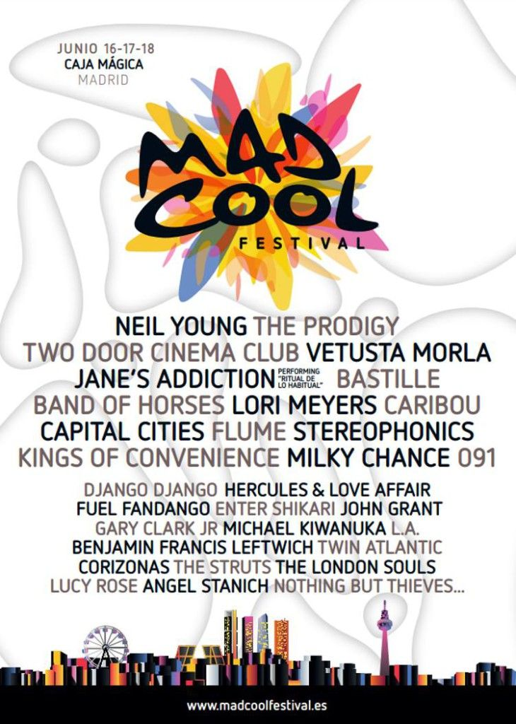 Image result for mad cool madrid