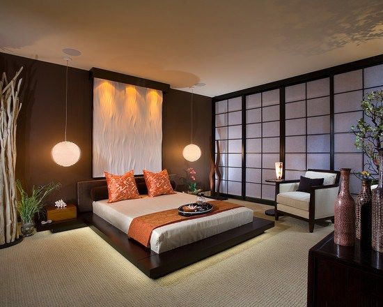 Spa Feeling Bedrooms Chambre Coucher Parent Luxe Japanese Style Bedroom Asian