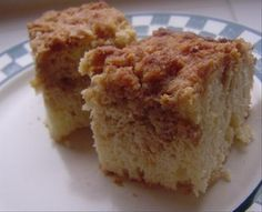 Bisquick Coffee Cake...just like grandma used to make when the recipe was still on the box...