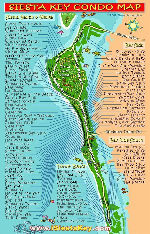 Best Siesta Key Images On Pinterest Sarasota Florida Florida - Venice beach florida map