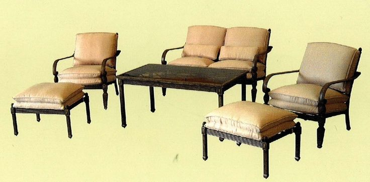 outdoor furniture replacement cushions - rustic modern furniture Check more at http://cacophonouscreations.com/outdoor-furniture-replacement-cushions-rustic-modern-furniture/