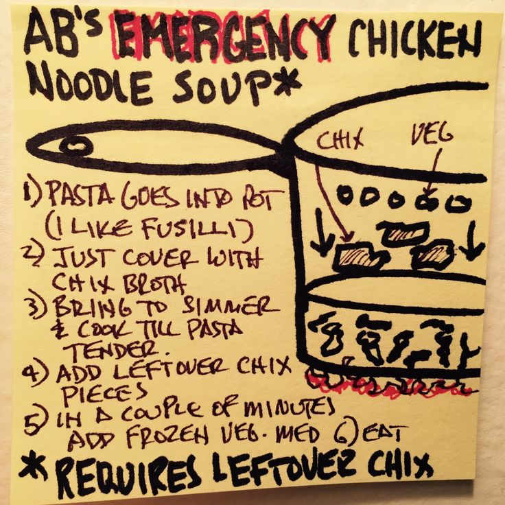 There's nothing better than homemade chicken soup and here's how you make one fast (requires leftover chicken or store-bought rotisserie).