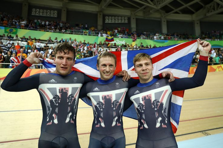 08.11.16Great Britain has now won gold in each of the last three Olympics in the track cycling team sprint. New Zealand wins silver, France the bronze. #Rio2016