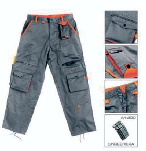 Pantalon de travail gris orange - Code produit: 6758150 - Cliquez sur la photo pour voir la fiche produit