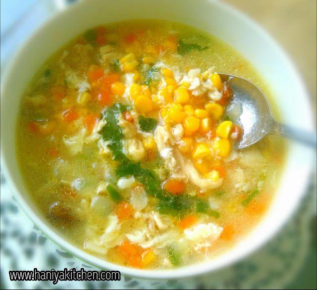 Resep Sup Jagung Spesial Ala Haniyakitchen Resep Sup Makanan Dan Minuman Masakan