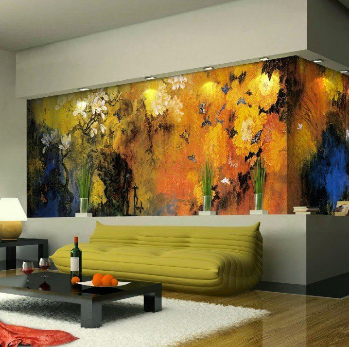 Promising Nature Wall Murals That Will Refresh Your Home.